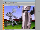 Metal Marines Windows 3.x Game over