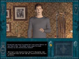 Nancy Drew: The Final Scene Windows Nancy meets Brady Armstrong. Choose which questions to ask by scrolling with the middle bar.