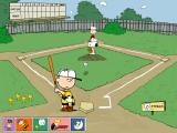 Peanuts: It's the Big Game, Charlie Brown! Windows Linus coaches Charlie Brown in batting
