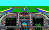 Blue Angels: Formation Flight Simulation DOS practice some formation flying (MCGA/VGA)