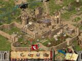 FireFly Studios' Stronghold Crusader Windows A large castle is more difficult to defend...