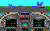 Blue Angels: Formation Flight Simulation DOS take off for an airshow (MCGA/VGA)