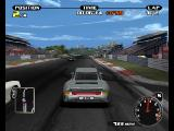 Need for Speed: Porsche Unleashed PlayStation Racing down the straight.