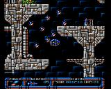 Aquanaut Amiga You must use cluster weapons to destroy the mines.