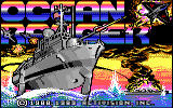 Ocean Ranger DOS title screen (EGA)