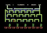 Humpty Dumpty in the Garden Commodore 64 Weeds are coming out of the pots
