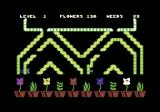Humpty Dumpty in the Garden Commodore 64 Flowers have bloomed