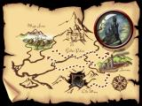 Brave Dwarves: Back for Treasures Windows The map of the worlds