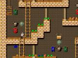 Brave Dwarves: Back for Treasures Windows The golden palace is the last world you'll encounter.
