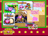 Kirby Super Star SNES Main menu. Choose between the various games