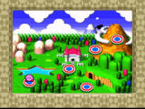 Kirby Super Star SNES World map in Dynablade