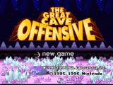 Kirby Super Star SNES The Cave Offensive, a game with many hidden treasures and secret levels