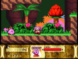 Kirby Super Star SNES Nice exotic setting