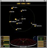 Elite: The New Kind Atari ST The short-range galaxy chart