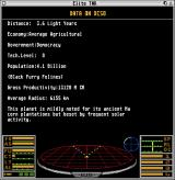 Elite: The New Kind Atari ST Data on the Diso system