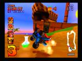 CTR: Crash Team Racing PlayStation Hit by a bomb!
