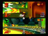 CTR: Crash Team Racing PlayStation And he bear falls behind...