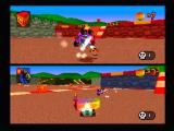 CTR: Crash Team Racing PlayStation Polar has a shield that can hurt whoever it touches.