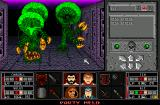 Black Crypt Amiga Some monsters can paralyze your party, so watch out!