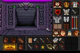 Black Crypt Amiga This is the inventory. You can also see what you're wearing.