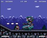 Switchblade II Amiga At the end of each level, you will face a difficult boss.