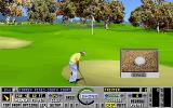 Links: The Challenge of Golf DOS Sand trap!  Dammit!
