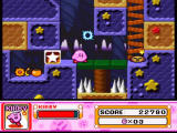 Kirby Super Star SNES A dangerous level with spikes