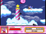 Kirby Super Star SNES Up among the clouds