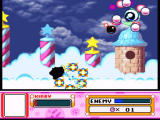 Kirby Super Star SNES This is a particularly nasty boss... looks spooky, too
