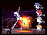 Shin Megami Tensei: Persona 3 PlayStation 2 Attacking with fire