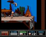 Premiere Amiga The first level takes place in a wild west movie-studio.