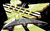 Elite Commodore 64 Loading screen