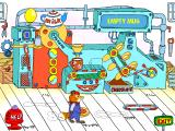 Richard Scarry's Busytown Windows Working on Mr. Fixit's beverage dispenser.