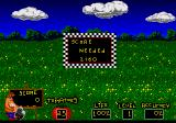 Menacer 6-Game Cartridge Genesis Ready, Aim, Tomatoes!: at each level a target score is given.