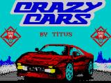 Crazy Cars ZX Spectrum Title screen