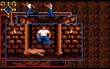Clive Barker's Nightbreed: The Interactive Movie Amiga I have to jump or duck to avoid the monster.