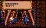 Clive Barker's Nightbreed: The Interactive Movie Amiga Fighting with a policeman.