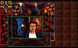 Clive Barker's Nightbreed: The Interactive Movie Amiga A sniper is trying to kill me. I have to avoid the laser-sight.