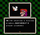 Wacky Races NES One of Dastardly's three missions. Can't a poor dog have some peace?
