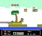 Wacky Races NES Now what? I have to jump over water, too?