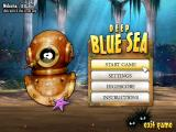 Deep Blue Sea Windows Main menu.