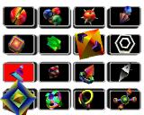Baby Universe PlayStation Select the shapes to appear in the Jewel Case.