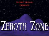 Zeroth Zone DOS Title screen