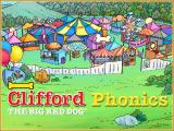 Clifford the Big Red Dog: Phonics Windows Title screen