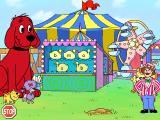 "Clifford the Big Red Dog: Phonics Windows Click on the ducks until they are all the same, thus getting ""all the ducks in a row"""