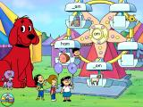 Clifford the Big Red Dog: Phonics Windows Match each balloon-holding child to an unfinished word to get this ferris wheel rolling