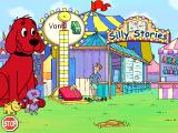 "Clifford the Big Red Dog: Phonics Windows Whacking the pad turns ""van"" into ""vane"" with a strong and silent ""e"""