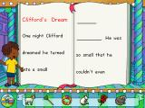 Clifford the Big Red Dog: Phonics Windows Choose pictures from the bottom of the screen to finish this silly story