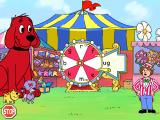 Clifford the Big Red Dog: Phonics Windows Give the wheel a spin to finish a word