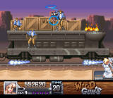 Wild Guns SNES When you're hit by that lasso you can''t move for awhile